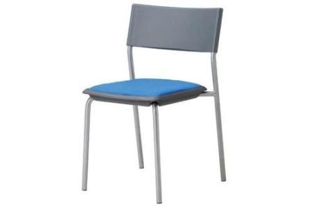 会議椅子 グレーシェル 肘なし 固定脚 MC-141G スタッキング椅子