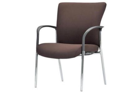 会議椅子 肘あり 固定脚 RE-767 スタッキングチェアー 応接セットコーチチェアー