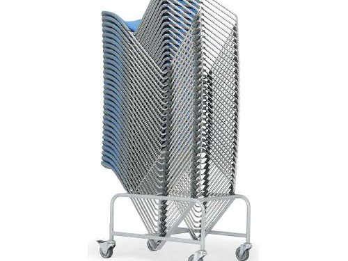 会議椅子の台車に収納ができる一般的な脚数は