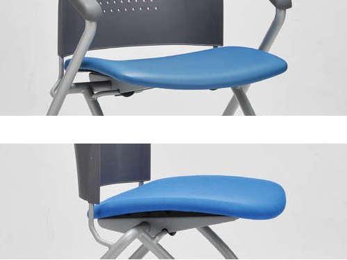 会議椅子のビニールレザー張りか布張りかの選択肢